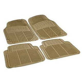 Stylobby Car Foot Mat Skoda Superb (Beige)