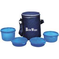 Briteware Plastic Smart Lunch Bag (Set Of 5)