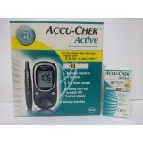Accu Chek Active Blood Glucose Meter With 100 Strips Original Sealed Pack With Life Time Warranty Strip Expiry Dec 2013 Clone