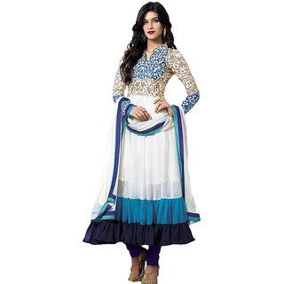 Kriti Sanon Georgette Self Design Salwar Suit Dupatta Material