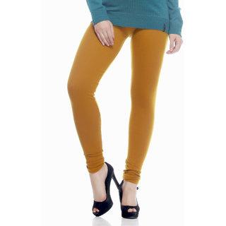 Sakhi Sang Woollen Lycra Mustard Leggings Sw0128