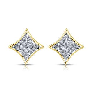 Dailywear Designer Diamond Earring Set for Women by Shriya