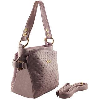 Fashionwood Purple Leather Bags