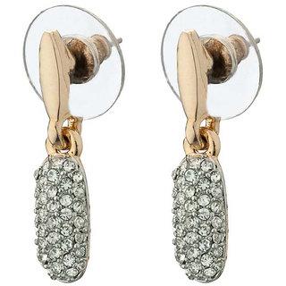 Hanging Gold Plated Austrian Diamond Earring Set for Women by Shriya