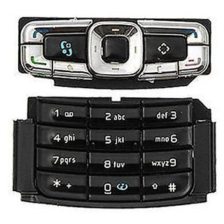 Replacement Keypad Keyboard For Nokia N95 8GB Black: Buy ...