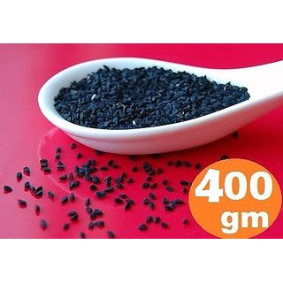 Black Seed Kalonji Herb Nigella Seeds Ayurvedic Fennel Flower Kalaunji - 400 gm