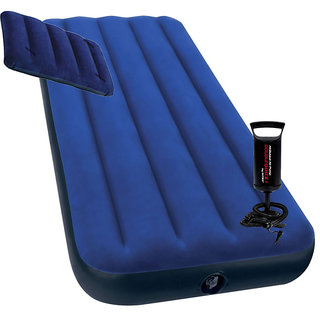 Shopper52 Twin Classic Downy Single Airbed With Pump & Pillow - INTXTBD