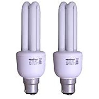15w Compact Cfl Combo Of 2