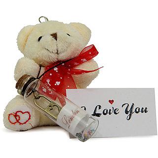 Teddy N Message Bottles