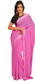 Anamika Multicolor Brocade Self Design Saree Without Blouse