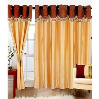 Little Joy Beautiful Design Door Curtain Set of 3 (4x7)