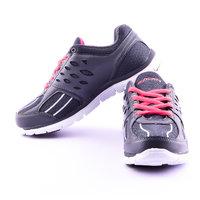 Escan Mens Sport Shoes  BLACK/RED ES7530-2