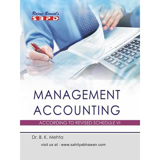 Principles and Practices of Management Accounting