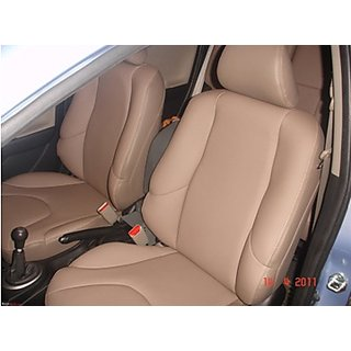Combo f Letherite Seat Covers for Maruti Baleno + FREE DVD Holder + waranty