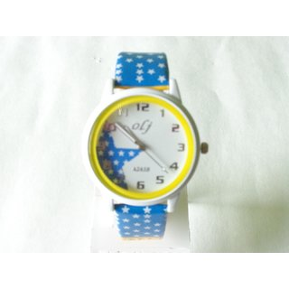 FRESHINGS - Trendy Wrist Watch with Attractive Strap and Dial (FKWAT-37)