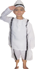 Bhagat Singh Fancy Dress Costume For Kids