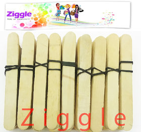 Ziggle 100 Long Plain Ice cream Sticks craft lowest price popsicles