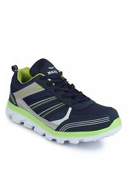 Vonc Blue And Green Sports Shoes