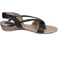 Brown Women Fabric  Synthetic Port Wedges (utra 10)