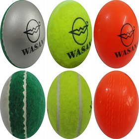 Wasan All Rounder Cricket Ball Pack Of 3
