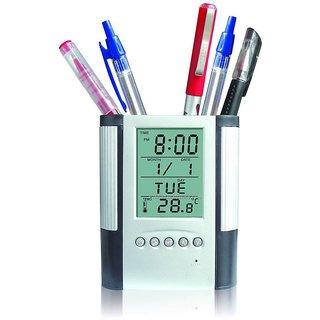 Kudos Pen Holder Digital Clock  Calender