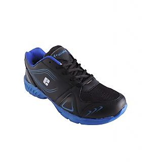 Elligator Black & Blue Running Sports Shoes RP1436