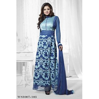 Odin Paris brands New Collection Designer Navy Blue Anarkali Suits