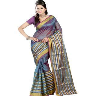 Sanju sarees Turquoise Color Meghalaya Silk Sarees