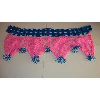 Woolen Toran pink color