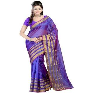 Sanju sarees Blue Color Meghalaya Silk Sarees
