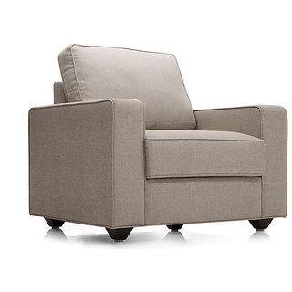 Kian 1 Seater Sofa Light brown