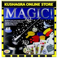 65 Magic Tricks Kit Innovative Kids Game Toy Perform Your Own Magic Show Toys