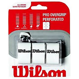 Wilson Overgrip (PERFORATED WHITE)