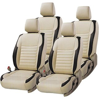Feather Feel - Leatherite Car Seat  Covers - For i20 Sports / Asta