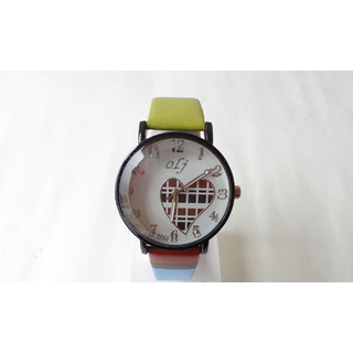 FRESHINGS - Trendy Wrist Watch with Attractive Strap and Dial(FKWAT-43)