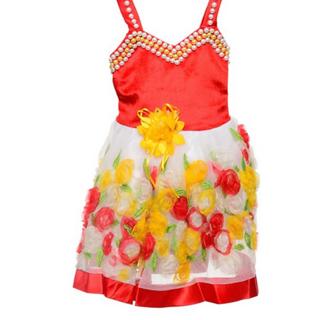 Buy Wish Karo Baby Girls Velvet And Net Pearl Work Party Dress