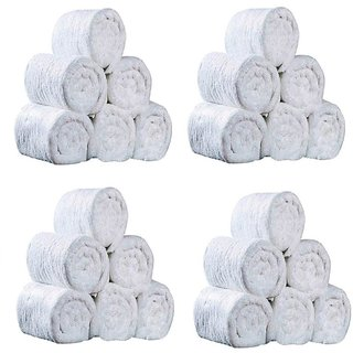 Pack of 24 White Hand Towels