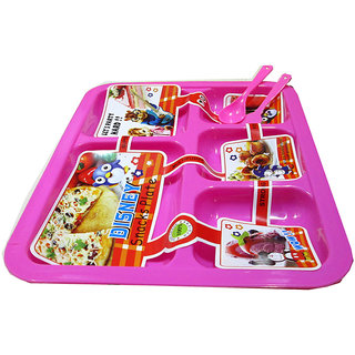 Kids Plate - 5 Sections