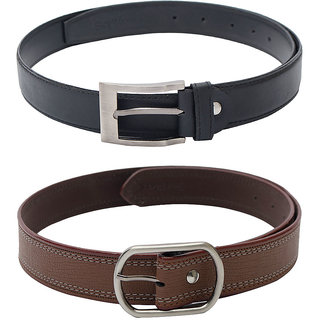 SkyWays Men's Belts Combo (BLM-9-BLM-10-BRN)