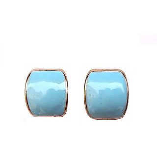 Fancy Blue Earrings - 738.1