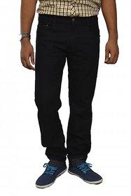 Studio Nexx Men's Regular Fit Black Jeans