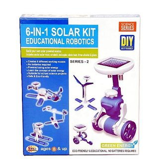 Educational Robotics 6 in 1 Solar Kit - Ser-2