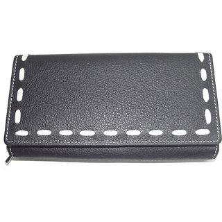 Black Ladies Pu Wallets Lw0501bl