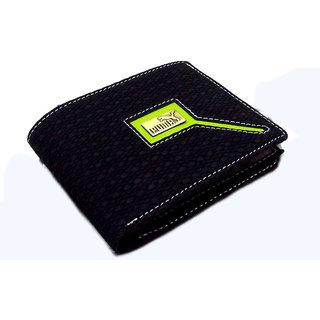 New Stylist Black Pu Leather Gents Wallets MW117BLPU