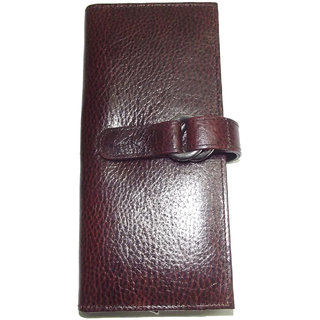 Original Brown Leather Ladies Wallets LW0509BRNDM