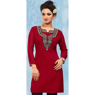 afe7892c6a394 Online Designer Casual Kurti Women Fancy Embroidered Kurti Prices ...