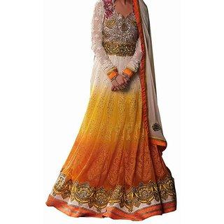 Awesome Diliwali Yellow Salwar Suit