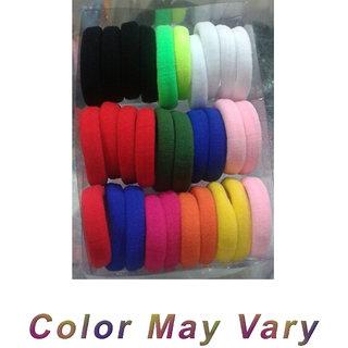 30 Pcs Mix ColorFul Hair Rubber Bands