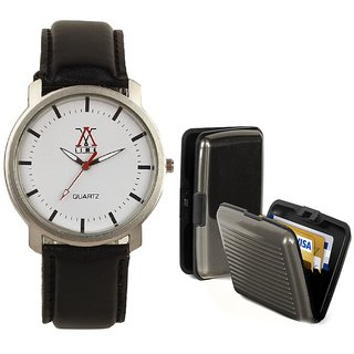 COMBO OF LIME WATCH &CARD HOLDER-AVW03-CARD
