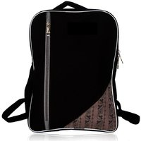 Laptop Carry Bag Backpack 14 1516 Laptops College Black With Gray